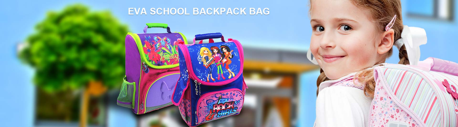 EVA School Backpack Bag